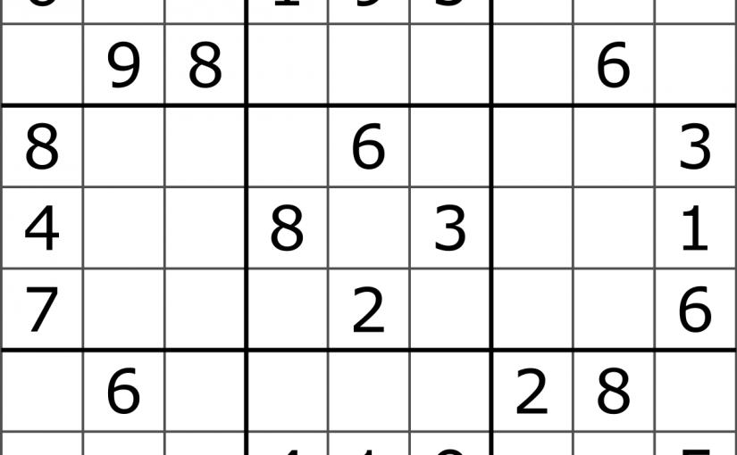 (583) Sudoku